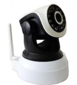China HD Video 1.0 Mega Pixels Wireless IP Cameras ,WIFI 720P Security Cameras on sale