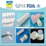Disposable Dental Cotton Rolls White Color Soft Non - Lining For Medical Care