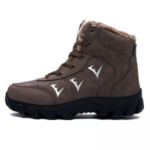 China Warm Lightweight High Top Hiking Boots Anti Odor Lace Up / Slip On Style on sale