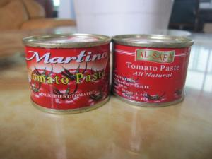 China HACCP & FDA certified canned tomato paste exported to africa on sale