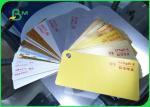 China Recycled Pulp Type Ivory Board Paper Metallized Film Surface Material wholesale