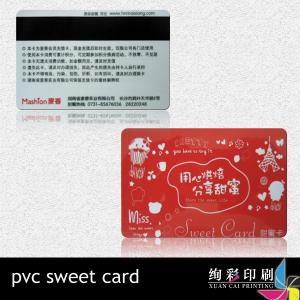China Silk Screen Green PVC Magnetic Stripe Cards With Bar Code , UV Spot on sale
