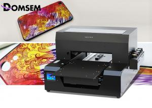 China Desktop A3 Size Uv Flatbed Printer 6 Colors Small Size With Two Year Warranty on sale