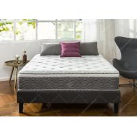 Luxurious Hotel Bed Mattress Customized Size 18cm Bonnell Spring Knitted Fabric