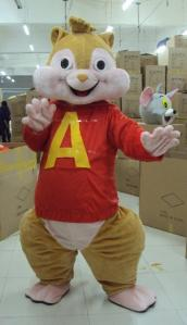 Quality High quality helmet squirrel chipmunk mascot kid animal costumes for theme park for sale