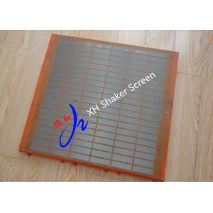 China Swaco MD-3 Triple-Deck Shaker Screen , Oil Shaker Screen Mesh Screen on sale