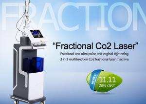 China 10600nm Co2 Fractional Laser Treatment Machine For Skin Resurfacing / Acne Scars on sale