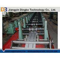 High Speed Rack Roll Forming Machine 380V 50Hz For Shelf 75mm Shaft Diameter