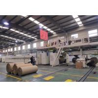 Automatic Cardboard Box Making Machine , 2200mm Cardboard Production Line