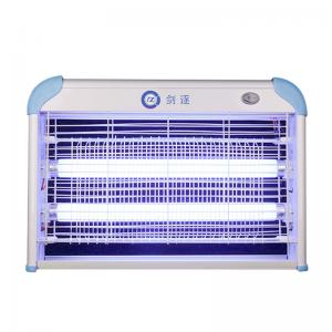 China electronic bug zapper with glass light at competitive price electronic insect killer with Full Alu. frame on sale