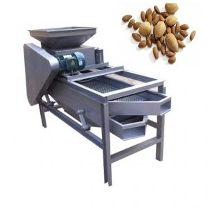 China Automatic Triple Deck Cashew Shelling Machine Nut Shelling Machine 400kg/H Capacity on sale
