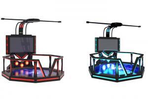 China Amusement Park VR Walking Platform , Interactive Virtual Reality Gaming Platform on sale