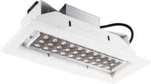 China CRI 75 Brightness LED Area Lights , Longlife Recessed Lighting LED on sale