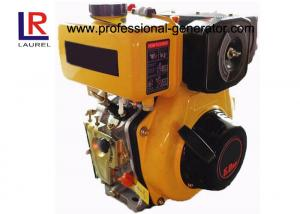 China Air Cooled 4HP Single Cylinder Diesel Engine with Vertical Facing PTO shaft , Pressure Splashed on sale