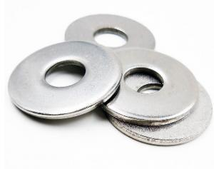 China Heavy Duty Round Flat Washers Electric Carbon Steel Material Non Rust on sale