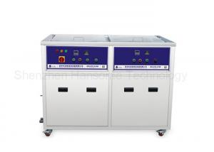 China Double Tank SMT Ultrasonic Cleaning Equipment With Cleaning / Drying Function on sale