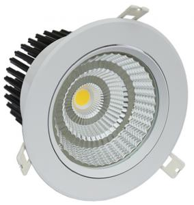 China IP44 3000Lm Rotatable LED Double Recessed Downlights White LED Recessed Fixtures 2800K - 6000K on sale