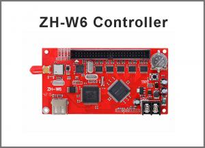 China wifi led control card ZH-W6  LED P10 Module wifi wireless card, U disk drive board controllers on sale