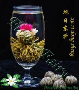 China Xu Ri Dong Sheng Blooming Tea on sale