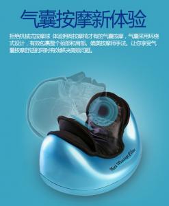China Kneading Shiatsu Massaging Pillow Health Analyzer Machine Power Adapter Or Battery Operated on sale
