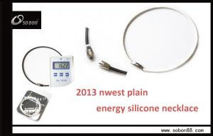 China Hot negative ion products energy balance necklace with black / white / coffee color GT-078 on sale