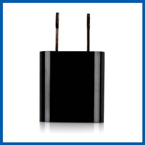 China Black Dual Port Wall Charger Universal USB Power Adapter Compatible With iPhone 6 on sale