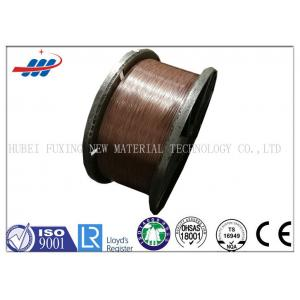 China Corrosion Resistance Copper Coated Steel Wire 1.0mm Dia For Hose Reinforcement on sale