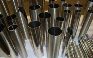 China 2B tuyau d'acier inoxydable décoratif poli extérieur 100mm-6000mm on sale