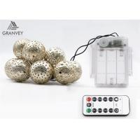 3.5M 10 Led Xmas Battery Powered Led Rope LightsMorocco Ball String High Brightness