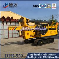 Manufacturer of Hydraulic Piling Driver Machines DFR-520 for Sale