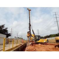 China Drilling Rig Equipment / Piling Rig Machine , Max Pile Depth 28m on sale