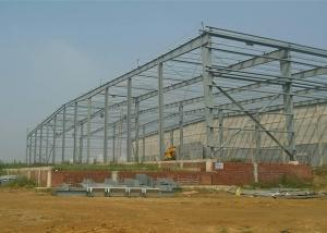 China Lightweight Steel Structure Workshop Earthquake Resistant Wide Span Customized on sale