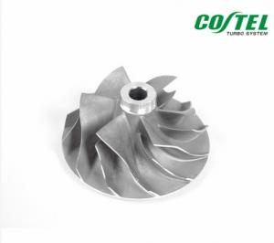 China 6 Blades Billet Compressor Wheel For Turbocharger 702492-0001 / 702492-0004 on sale