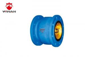 China Fire Fighting Silencing Check Valve Cast / Ductile Iron Material Color Customized on sale