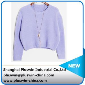 China hot sale high quality cashmere/cashmere blended sweater for women on sale