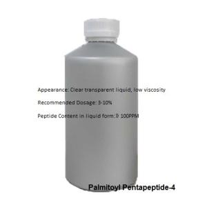 China Cosmetic Peptides Palmitoyl Pentapeptide-4 ready to use for skin conditioning Cas 214047-00-4 on sale