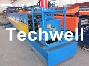 China Z Channel / Section / Profile Cold Roll Forming Machine For 80 - 300 Width Z Channel on sale