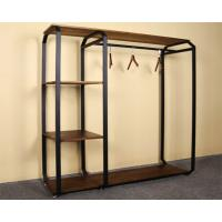 Customized Design Garment Storage Rack / Industrial Clothing Rack Easy Assemble