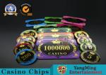 Acrylic Crystal RFID Rectangular Poker Chips Plaque Casino Jeton Real Gaming