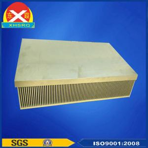 China 6063 extruded aluminum heat sink for APF/SVG/Inverter/Soft start electronic quipements. on sale