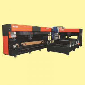 China Die Board Laser Cutting Machine carbon steel plate / stainless steel plate cutter on sale