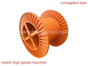 China corrugated steel cable drum heavy duty on sale