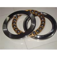 Chrome Steel Thrust Ball Bearing 51415M Durable With Brass / Metal Cage