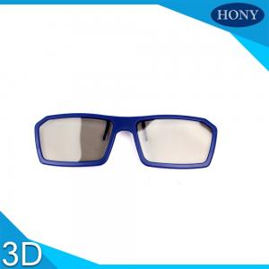 China Passive Clip On  Polarized 3D Glasses One Time Fold Arms For IMAX on sale