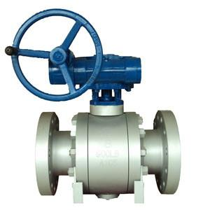 China 3PC Forged Trunnion Mounted Ball Valve F51 API 6D RTJ Fire Safe Ball Valves 900LB on sale