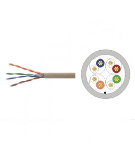 China U / UTP Colored Cat 5 Cable , PVC Jacket Ethernet Lan Network Cable UL Approved on sale