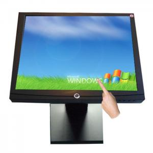 China USB Flat Panel 19  LCD Touch Monitor , Ultra-thin Touch Screen LCD Displays on sale
