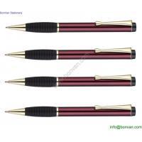 Aluminum logo printed metal pen wholesale metal ballpoint pen bulk buy from china