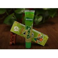 Japanese Sushi Food Seasoning Green Wasabi Horseradish Sauce Tube BRC Verified