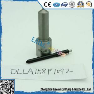 China ERIKC denso auto fuel injector nozzle DLLA158P1092,  DLLA 158 P 1092 fuel injection nozzle on sale